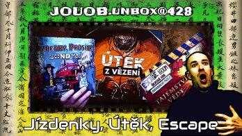 JOUOB.unbox@428 : Útěk z vězení & Jízdenky, prosím! Londýn & Escape Room: Dobrodružné puzzle